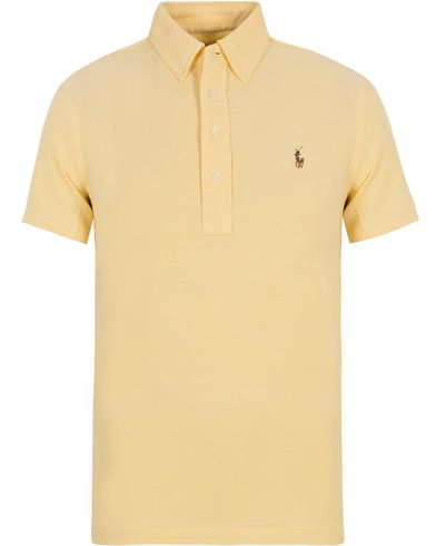 Polo Ralph Lauren Oxford Knit Polo Masters Yellow i gruppen Pikéer / Kortermet piké hos Care of Carl (12689011r)