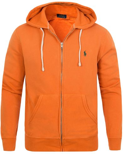 Polo Ralph Lauren Full Zip Hoodie Southern Orange i gruppen Gensere / Hettegensere hos Care of Carl (12690611r)
