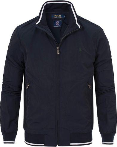 Polo Ralph Lauren Wimbledon Jacket French Navy i gruppen Design A / Jackor / Tunna jackor hos Care of Carl (12694211r)