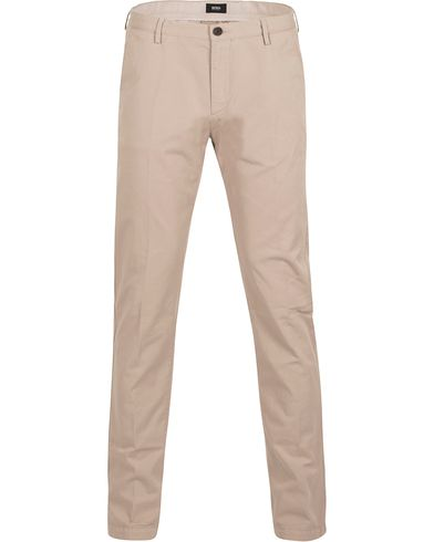 BOSS Rice 3-D Chinos Beige i gruppen Klær / Bukser / Chinos hos Care of Carl (12695711r)