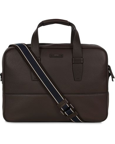 BOSS Aspen S Dock Messengerbag Dark Brown  i gruppen Accessoarer / Väskor / Portföljer hos Care of Carl (12697110)