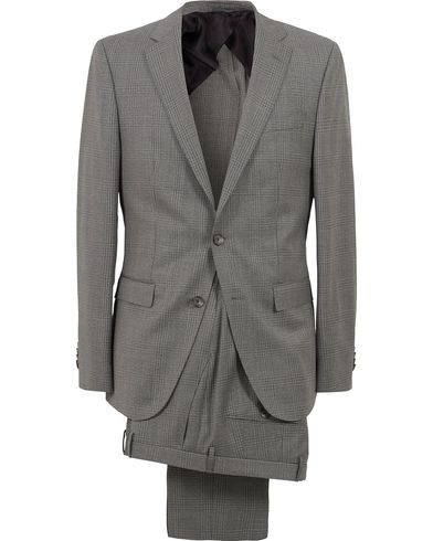 BOSS Nortan/Beno Check Suit Grey i gruppen Klær / Dresser hos Care of Carl (12697911r)