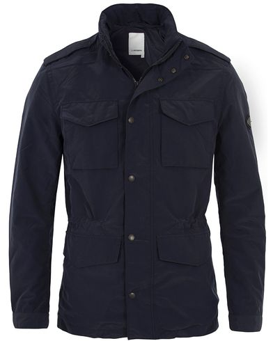 J.Lindeberg Farren Peach Nylon Jacket Dark Navy i gruppen Jackor / Fieldjackor hos Care of Carl (12703711r)