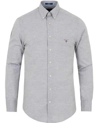 Gant Air Chambray Regular Fit Shirt Grey Melange i gruppen Skjortor / Casual Skjortor hos Care of Carl (12706711r)