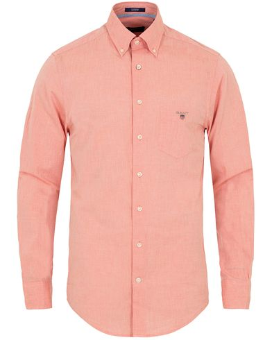 Gant Air Chambray Regular Fit Shirt Burnt Ochre i gruppen Skjortor / Casual Skjortor hos Care of Carl (12706811r)