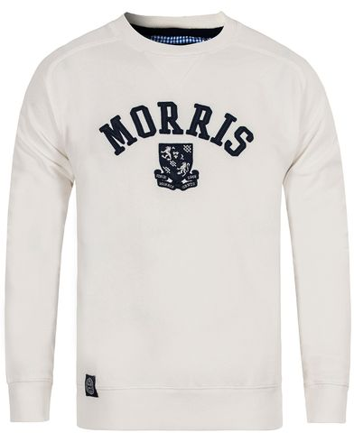 Morris Humble Sweatshirt Off White i gruppen Klær / Gensere / Sweatshirts hos Care of Carl (12709611r)