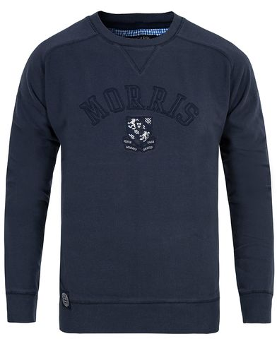 Morris Humble Sweatshirt Blue i gruppen Klær / Gensere / Sweatshirts hos Care of Carl (12709711r)