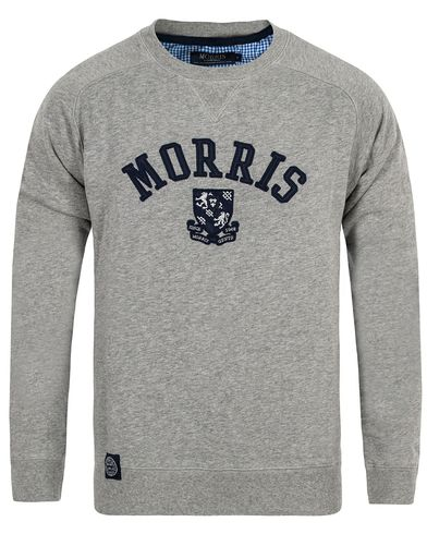 Morris Humble Sweatshirt Grey i gruppen Klær / Gensere / Sweatshirts hos Care of Carl (12709811r)