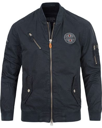 Morris Wright Jacket Old Blue i gruppen Jakker / Tynne Jakker hos Care of Carl (12710111r)