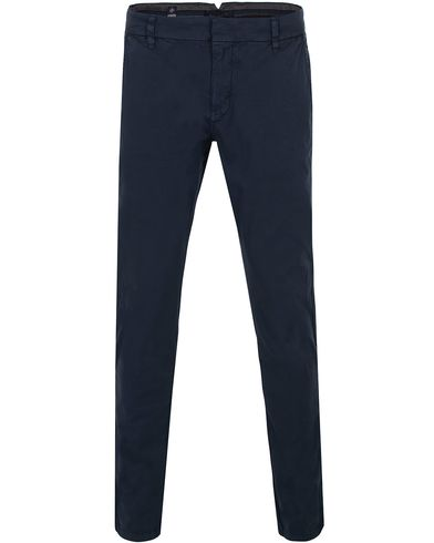 Morris Dapper Slacks Blue i gruppen Byxor / Chinos hos Care of Carl (12710911r)