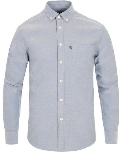 Lexington Kyle Button Down Oxford Shirt Classic Blue i gruppen Kläder / Skjortor / Oxfordskjortor hos Care of Carl (12714211r)