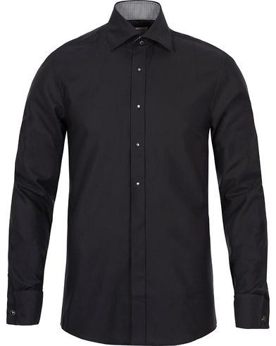 Stenströms Slimline Evening Shirt Black i gruppen Skjorter / Formelle skjorter hos Care of Carl (12718411r)