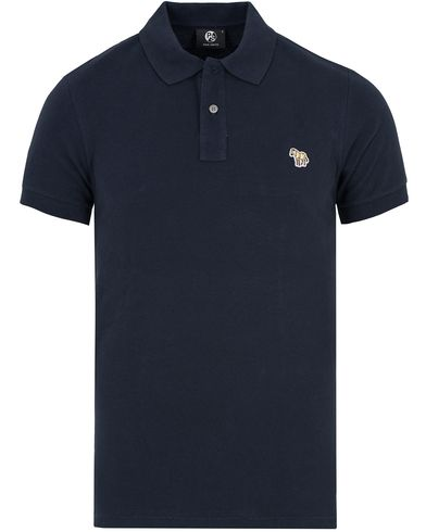 PS by Paul Smith Slim Fit Polo Navy i gruppen Kläder / Pikéer / Kortärmade pikéer hos Care of Carl (12727511r)