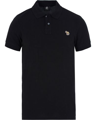 PS by Paul Smith Slim Fit Polo Black i gruppen Kläder / Pikéer / Kortärmade pikéer hos Care of Carl (12727811r)
