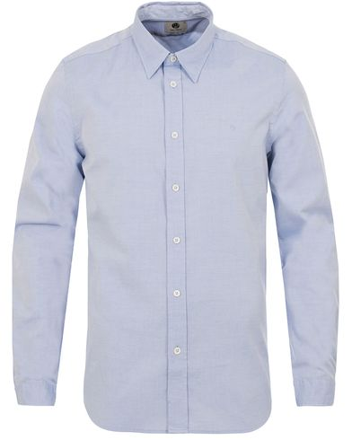 PS by Paul Smith Tailored Fit Oxford BD Shirt Light Blue i gruppen Skjorter / Casual Skjorter hos Care of Carl (12728411r)