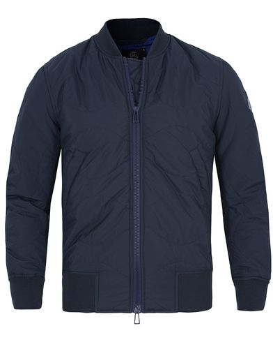 PS by Paul Smith Quilted Bomber Jacket Navy i gruppen Jakker / Bomberjakker hos Care of Carl (12729111r)