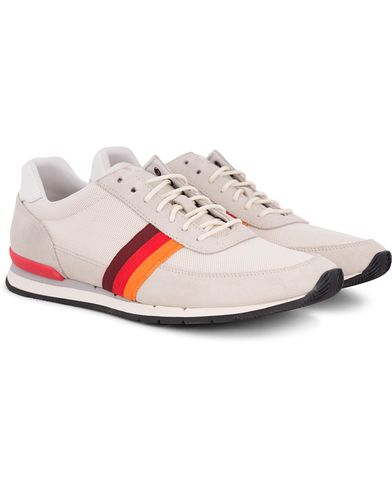 PS by Paul Smith Swanson Running Sneaker Off White Mesh i gruppen Skor / Sneakers / Running sneakers hos Care of Carl (12729211r)