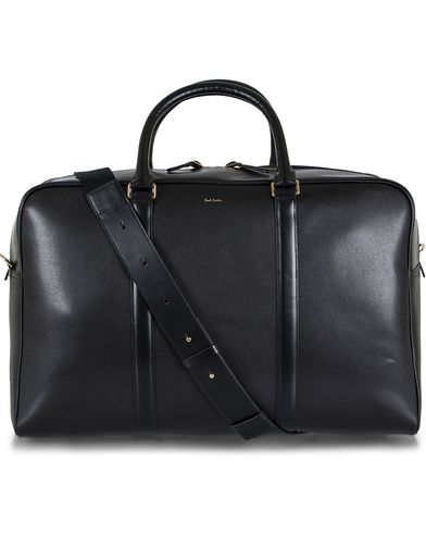Paul Smith Leather Holdall Bag Black  i gruppen V�skor / Weekendbags hos Care of Carl (12729610)