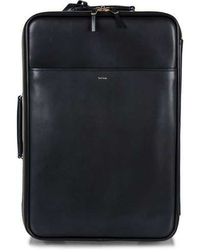 Paul Smith Trolley Leather Bag Black  i gruppen Design A / Vesker / Weekendbager hos Care of Carl (12729810)
