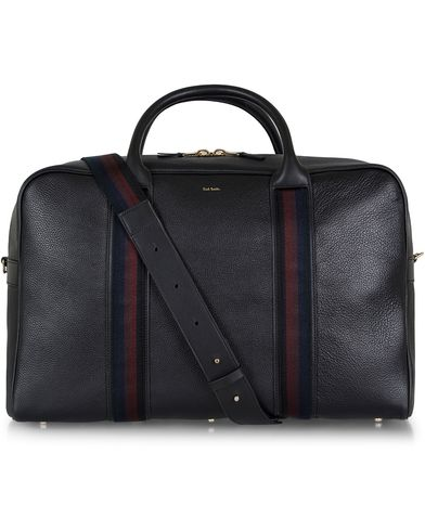 Paul Smith Leather Weekend Bag Black  i gruppen Vesker / Weekendbager hos Care of Carl (12730110)