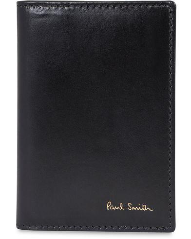 Paul Smith Flash Credit Card Wallet Black  i gruppen Assesoarer / Lommebøker / Kortholdere hos Care of Carl (12730510)