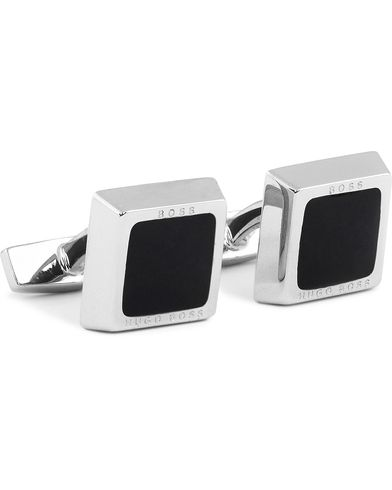 BOSS Franzisko Cufflinks Black  i gruppen Assesoarer / Mansjettknapper hos Care of Carl (12733810)