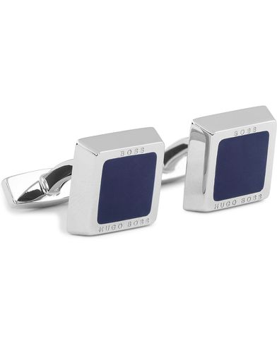 BOSS Franzisko Cufflinks Navy  i gruppen Assesoarer / Mansjettknapper hos Care of Carl (12733910)