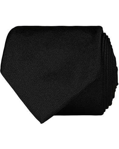 BOSS Tie 7,5 cm Silk Tie Black  i gruppen Tilbehør / Slips hos Care of Carl (12734010)