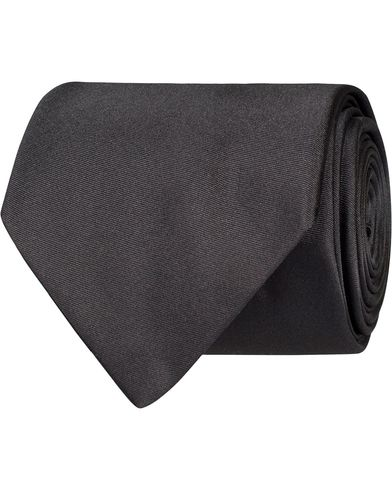 BOSS Tie 7,5 cm Silk Tie Medium Grey  i gruppen Accessoarer / Slipsar hos Care of Carl (12734210)
