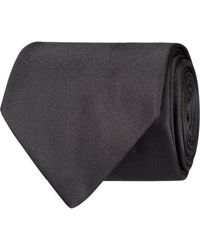 BOSS Tie 7,5 cm Silk Tie Medium Grey  i gruppen Design A / Assesoarer / Slips hos Care of Carl (12734210)