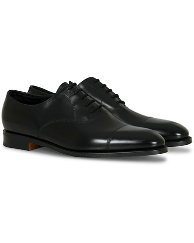 John Lobb City II Oxford Black Calf i gruppen Sko / Oxfords hos Care of Carl (12735711r)