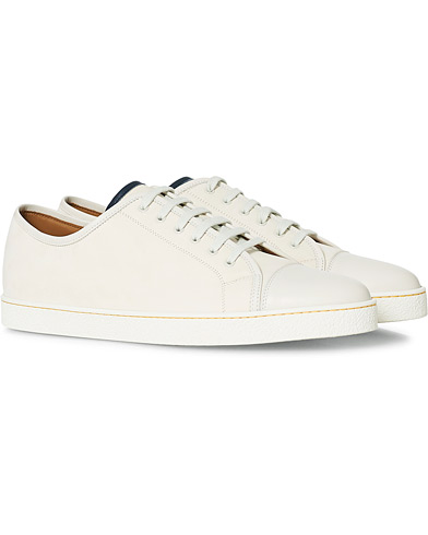 John Lobb Levah Sneaker White Nubuck i gruppen Sko / Sneakers / Sneakers med lavt skaft hos Care of Carl (12736011r)