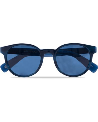 Paul Smith Eyewear Wayden Sunglasses Navy Horn/Blue  i gruppen Solbriller / Runde solbriller hos Care of Carl (12738210)