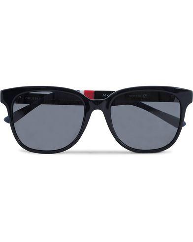 Orlebar Brown OB4C1SUN  Sunglasses Black/Solid Dark Grey/Navy  i gruppen Solglasögon / D-formade solglasögon hos Care of Carl (12739310)