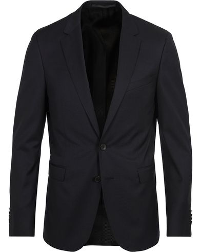 BOSS Ryan Slim Fit Wool Blazer Black i gruppen Tøj / Blazere & jakker / Enkeltradede blazere hos Care of Carl (12742911r)