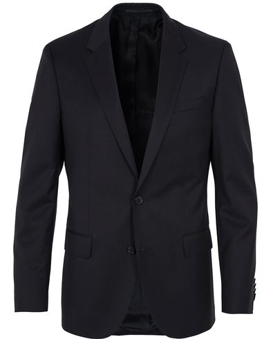 BOSS Hayes Regular Fit Wool Blazer Black i gruppen Kavajer / Kostymkavajer hos Care of Carl (12743511r)