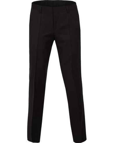 BOSS Gibson Regular Fit Wool Trousers Black i gruppen Byxor / Kostymbyxor hos Care of Carl (12743811r)