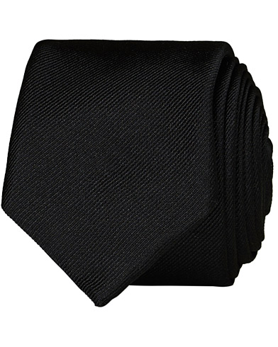 BOSS Silk 6 cm Tie Black  i gruppen Accessoarer / Slipsar hos Care of Carl (12744110)