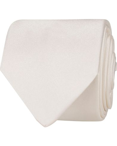 BOSS Silk 6 cm Tie White  i gruppen Assesoarer / Slips hos Care of Carl (12744210)
