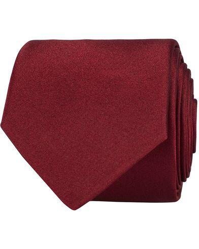 BOSS Silk 6 cm Tie Medium Red  i gruppen Design A / Assesoarer / Slips hos Care of Carl (12744410)