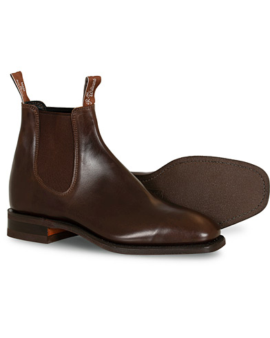 R.M.Williams Blaxland G Boot Yearling Rum i gruppen Skor / Kängor / Chelsea boots hos Care of Carl (12746111r)