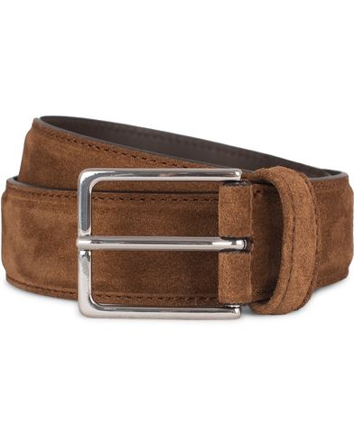 Anderson's Plain Belt Polo Suede Brown i gruppen Accessoarer / B�lten hos Care of Carl (12746511r)