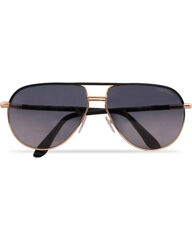 Tom Ford Cole FT0285 Sunglasses Rose Gold/Black  i gruppen Accessoarer / Solglasögon / Pilotsolglasögon hos Care of Carl (12747210)