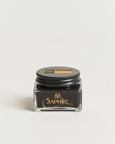 Saphir Medaille d'Or Cordovan Creme 75 ml Black  i gruppen Sko / Skopleie hos Care of Carl (12754610)