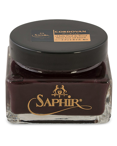 Saphir Medaille d'Or Cordovan Creme 75 ml Burgundy  i gruppen Skor / Skov�rd hos Care of Carl (12754710)