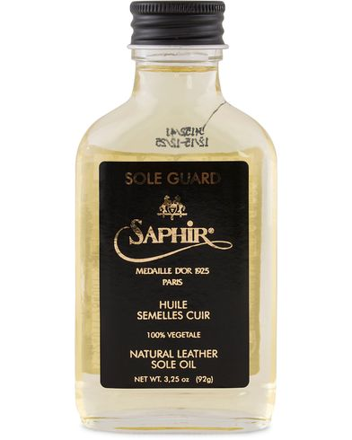 Saphir Medaille d'Or Sole Guard Leather Oil Neutral  i gruppen Skor / Skovård / Skovårdsprodukter hos Care of Carl (12755010)