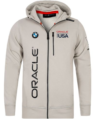 Sail Racing Oracle Full Zip Hoodie Grey Violet i gruppen Tröjor / Huvtröjor hos Care of Carl (12755511r)