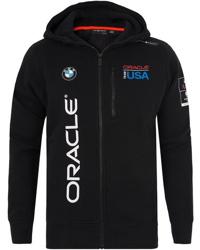 Sail Racing Oracle Full Zip Hoodie Carbon Black i gruppen Tröjor / Huvtröjor hos Care of Carl (12755611r)