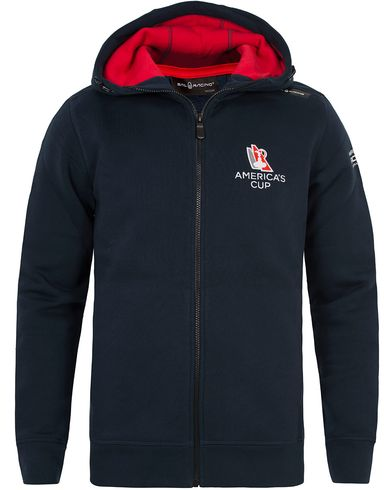 Sail Racing AC Zip Hoodie Navy i gruppen Kläder / Tröjor / Huvtröjor hos Care of Carl (12757211r)