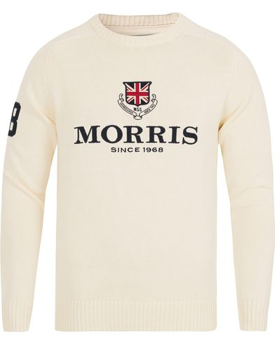 Morris Carl Hebrides Sweater Off White i gruppen Tr�jor / Stickade Tr�jor hos Care of Carl (12759011r)